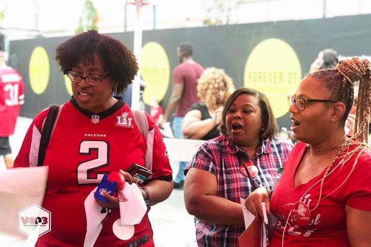 Falcons Kickoff Rally 2019