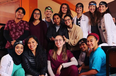 The group of 15 students are stranded in Peru