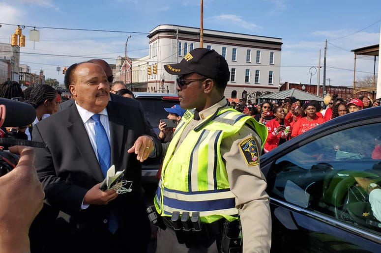 Martin Luther King III was among the many thousands participating in Selma2020