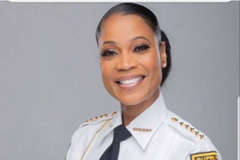 Melody Maddox is the first woman sheriff of DeKalb County (GA)