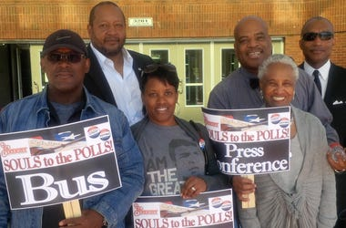 File photo of voters manning the polls at the Adamsville Recreation Center