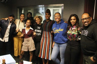 "The cast and crew of the movie ""Little"" visit V-103's The Morning Culture with Frank Ski, Jade Novah & JR"