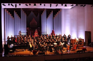 The Trey Clegg Singers and members of the Atlanta Symphony Orchestra will perform Saturday, Dec 14 at Ebenezer Baptist Church in Atlanta