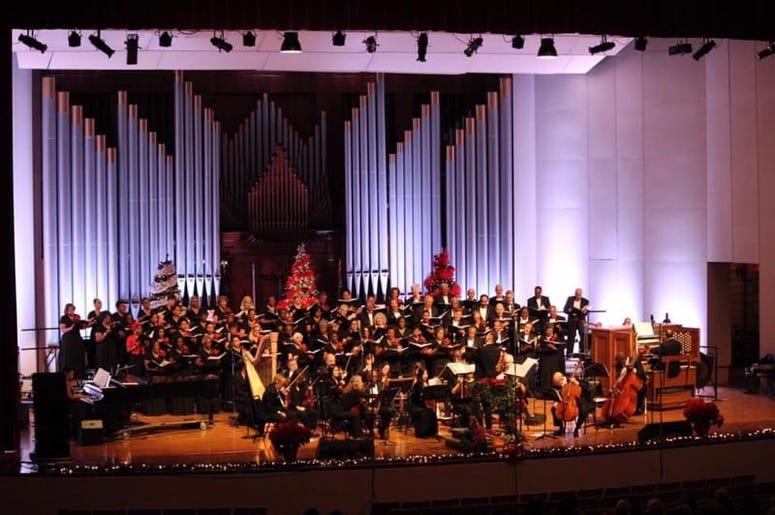 The Trey Clegg Singers and members of the Atlanta Symphony Orchestra will perform Saturday, Dec 14 at Ebenezer Baptist Church in Atlanta