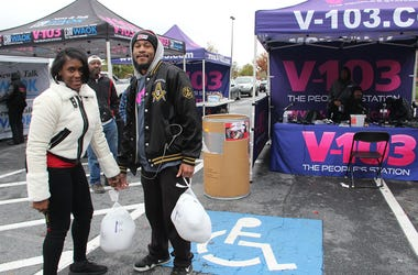 Turkeys being donated on Thursday, November 15, at DTLR Camp Creek Marketplace