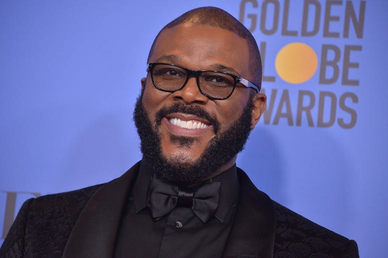 Tyler Perry at the 2019 Golden Globes Awards