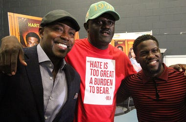Night School director Will Packer, Greg Street and Kevin Hart