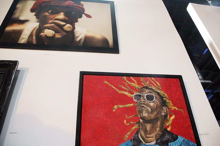 Art and photography of Atlanta trap artist Young Thug
