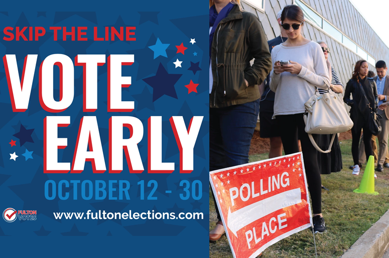 Skip the Line Vote Early