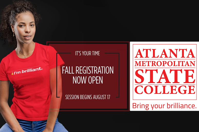 Register Now for Fall Enrollement at Atlanta Metropolitan State College