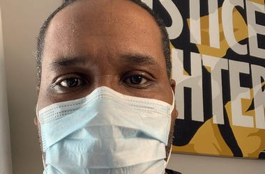 GA NAACP VP Gerald Griggs says wearing a mask is a misdemeanor in GA punishable by up to 12 months in jail and a $1000 fine with no exceptions for a global pandemic
