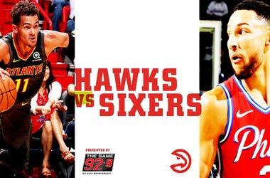 Hawks vs 76rs