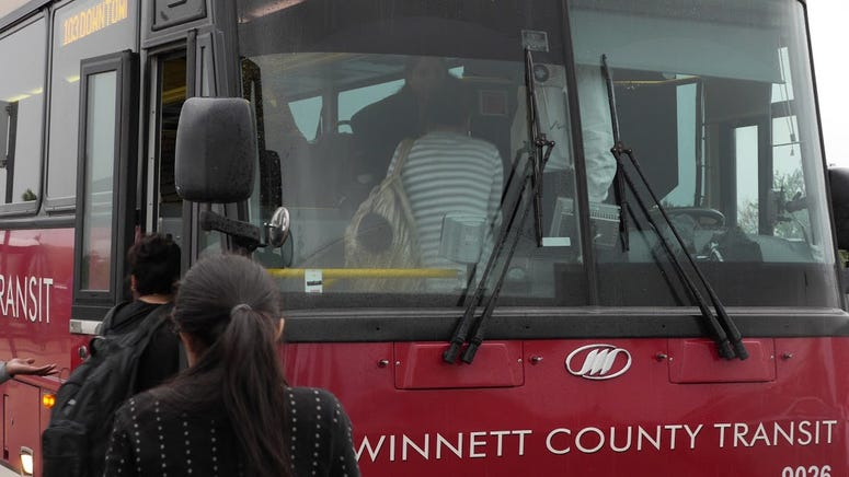 Voters in Gwinnett County are deciding if the long-resistant suburban area will finally join MARTA and double its mass transit.