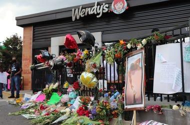 Rayshard Brooks Memorial at Wendy's
