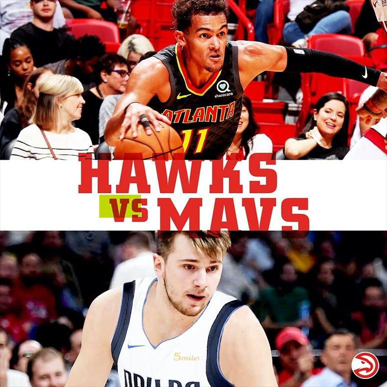 Atlanta Hawks vs Mavericks