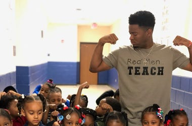 Atlanta Teacher Johnathon Hines will share a major gift when students return