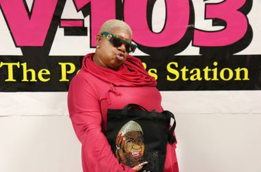 Luenell In the V103 Studio's