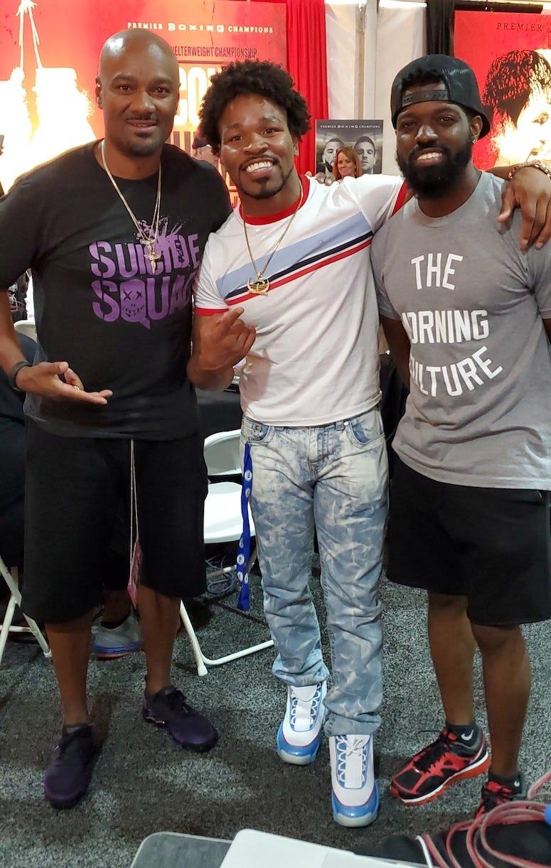 Shawn Porter, Big Tigger, and JR
