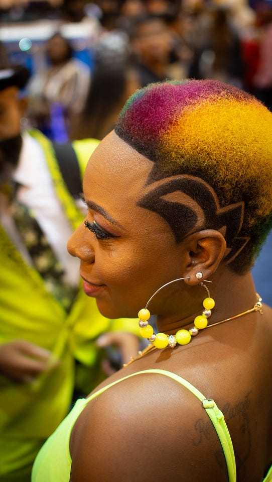 The Bronner Bros Beauty Show was held in New Orleans in 2018