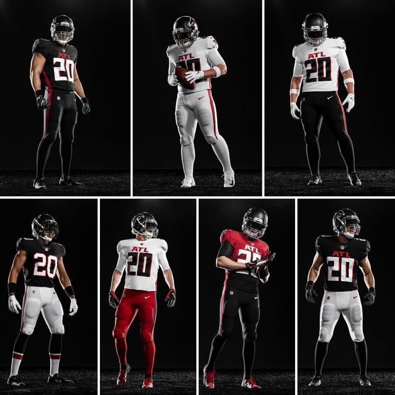 Atlanta Falcons New Uniformsv