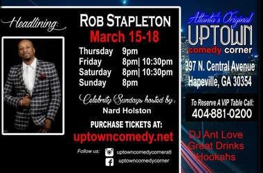 Uptown Comedy Rob Stapleton