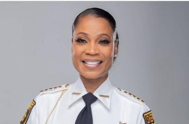 Melody Maddox says that she is humbled and excited as first female Sheriff of DeKalb County