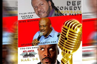 The Def Comedy Throwback Block Party