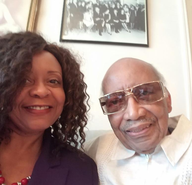 Former State Senator Leroy Johnson welcomed me into his Atlanta home on June 8, 2016