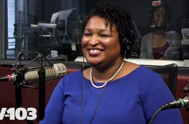 Stacy Abrams in Studio