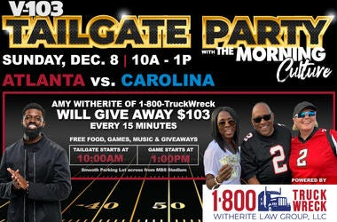 V-103 Tailgate Party with The Morning Culture 12-8-19