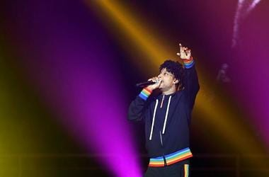 21 Savage performs at the BUD LIGHT SUPER BOWL MUSIC FEST AND EA SPORTS BOWL