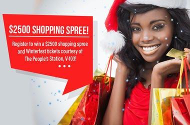 win a $2500 shopping spree!