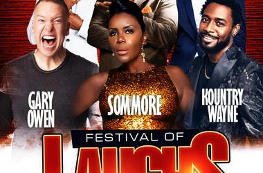 Win Tickets to Festival of Laughs!