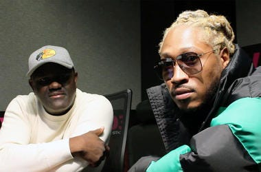 V-103's DJ Greg Street and Future