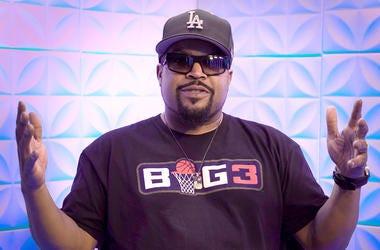 Ice Cube visits V-103 in Atlanta