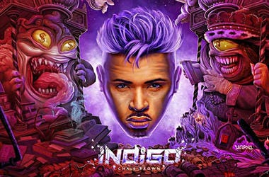 Chris Brown Indigo Cover Art