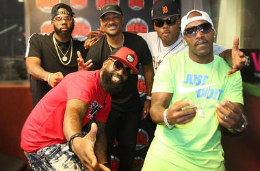 Jagged Edge In Studio With Big Tigger