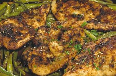 Ramona DeBreaux's Garlic Butter Chicken Skillet with Wayfield Foods