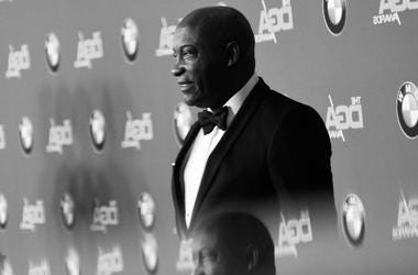 Director John Singleton (R) attends the 70th Annual Directors Guild Of America Awards at The Beverly Hilton Hotel on February 3, 2018 in Beverly Hills, California.