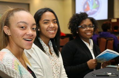 Teens attend a previous CEOs of Tomorrow Conference in Atlanta