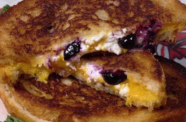 Ramona DeBreaux's Sweet & Salty Grilled Cheese with Wayfield Foods