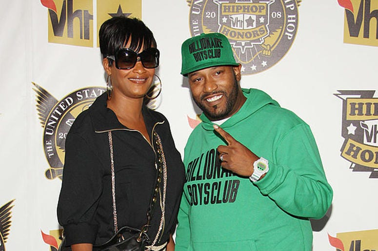 Rapper Bun B and his wife Queenie at the Hip Hop Honors