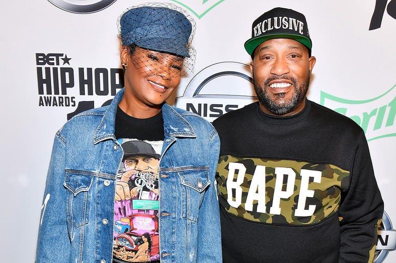Rapper Bun B and his wife Queenie