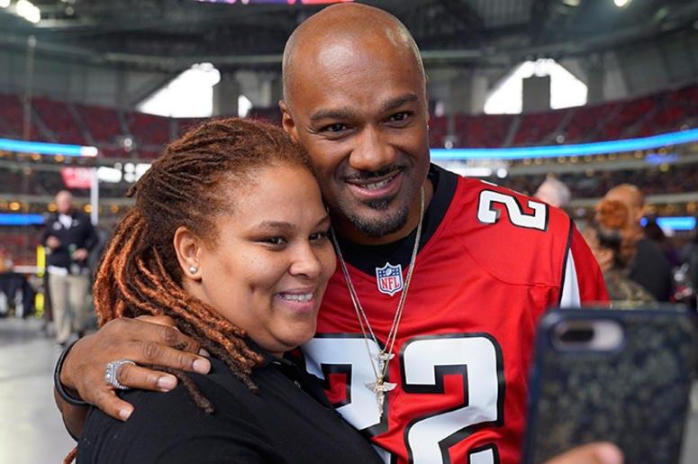 Big Tigger At The Falcons VS Cardinals Game December 16th 2018