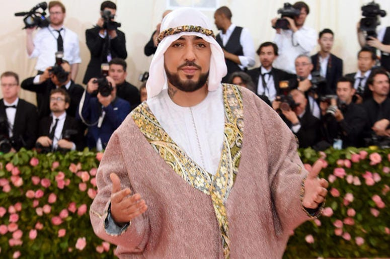 French Montana attends the 2019 Met Gala.