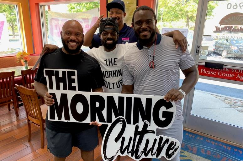 The Morning Culture Takeover