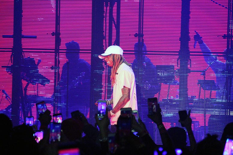 A Photo from the TIDAL X: Lil Wayne I Ain't Sh*t Without You Fan Appreciation Tour