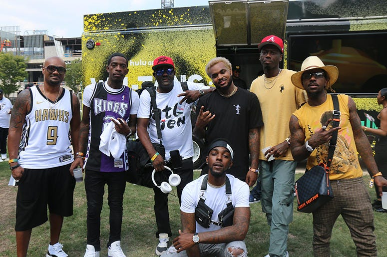 Backstage At One Music Fest With Travis Porter/ Roscoe Dash 2019