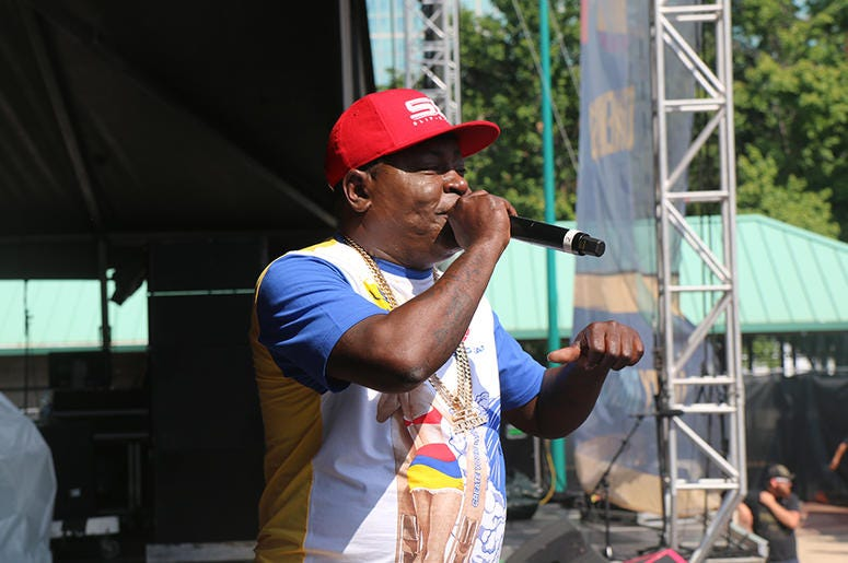 Trick Daddy on Stage At One Music Fest 2019