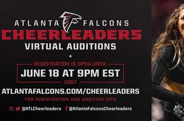 Atlanta Falcons Cheerleader Tryouts